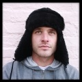 Black Trooper Sheepskin Hat