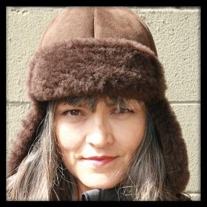 Chocolate Trooper Sheepskin Hat